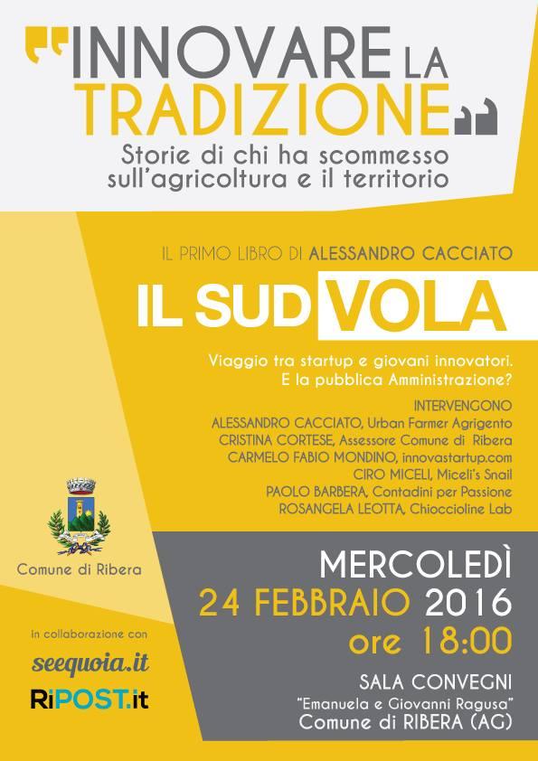 Evento a Ribera su #innovazione e #startup